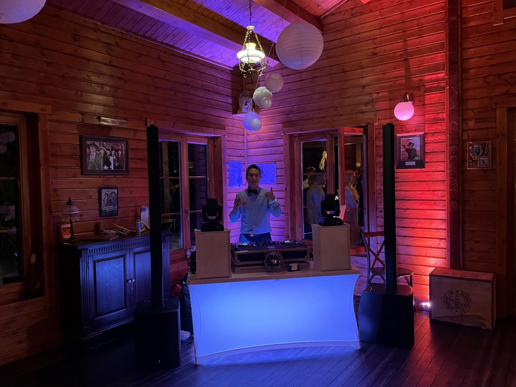 DJ am Werk
