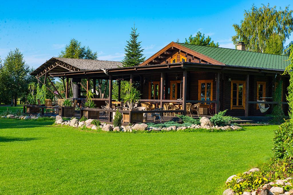 MQ Haupthaus - Das Zentrum der Ranch