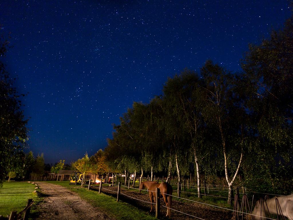 MQ Ranch bei Nacht