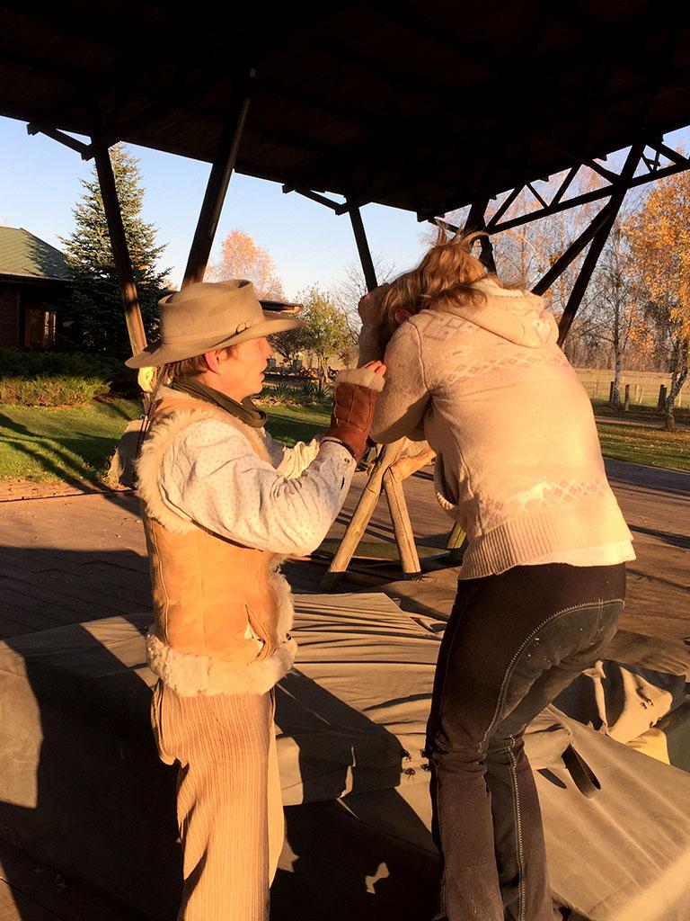 Horsemenship Workshop auf der MQ Ranch - Maßnahmen für Sicherheit und Souveränität