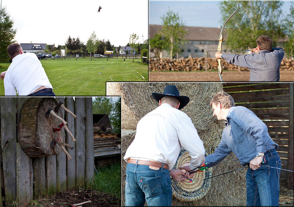 Exklusives Teamevent auf der MQ Ranch: Die Western-Challenge